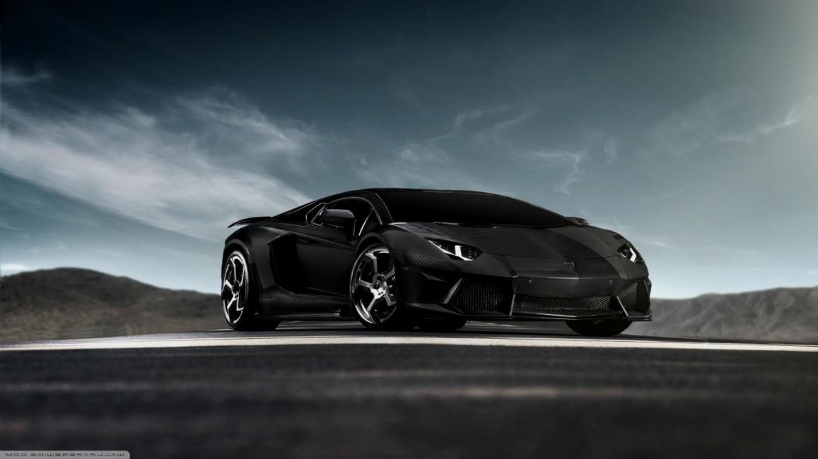 Lamborghini-Aventador Black diamond