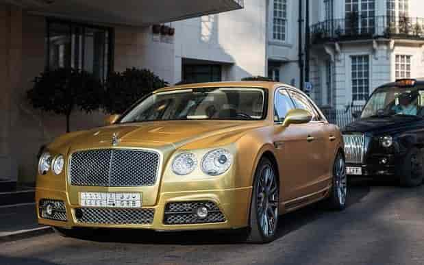 BENTLEY FLYING SPUR Stop
