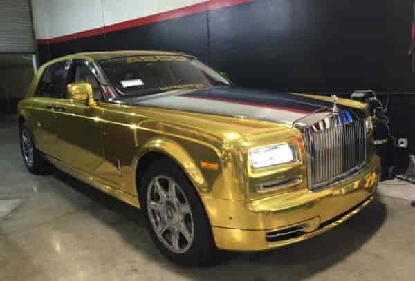 RollsRoyce Gold